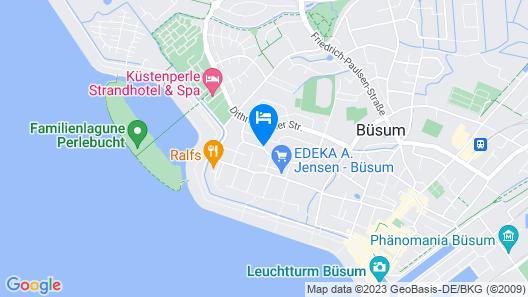 Astra Maris Hotel Map