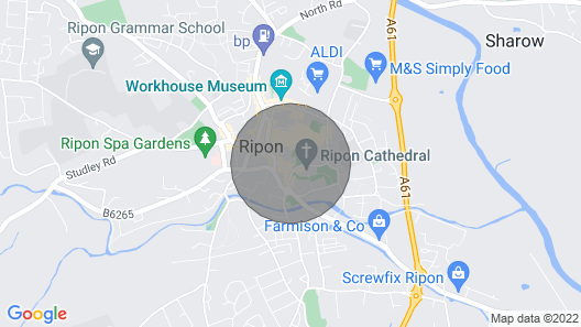 2 bedroom accommodation in Ripon Map