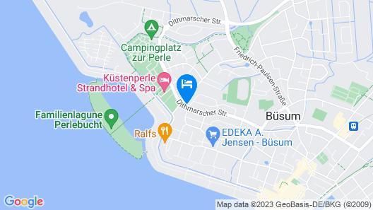 Strandnest Büsum Map
