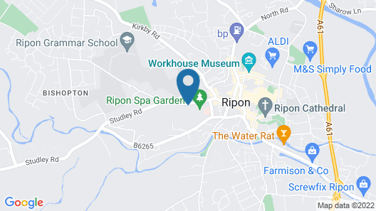 The Ripon Spa Hotel Map