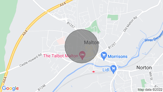 The Old Pipe House, Malton Map