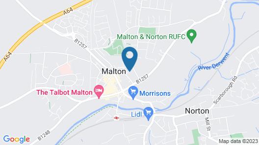 1 School Lane Map
