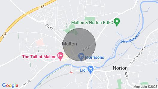 1 School Lane, Malton Map