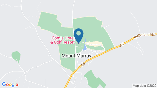 COMIS Hotel & Golf Resort Map