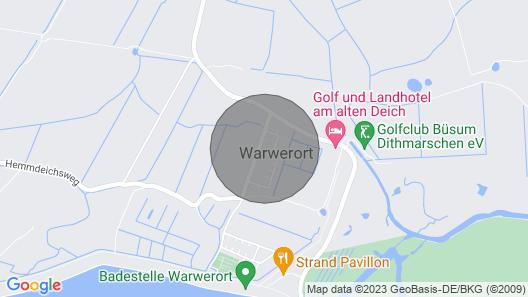 Apartment Austernfischer in Warwerort - 6 Persons, 3 Bedrooms Map
