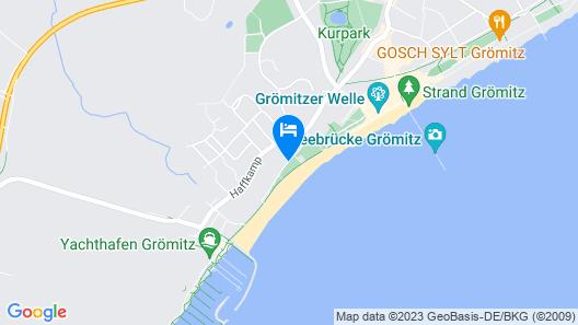 Strandhotel Gromitz Map