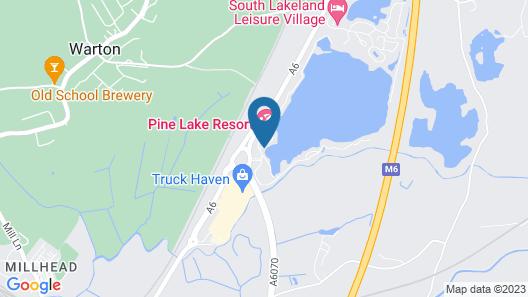 Pine Lake by Diamond Resorts Map