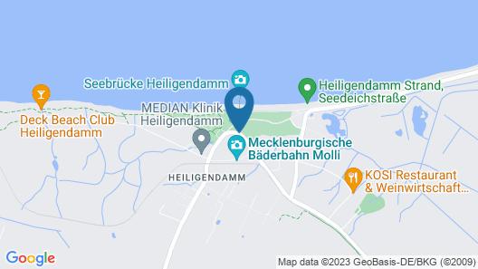 Grand Hotel Heiligendamm Map