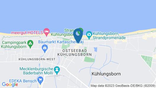 Aquamarin Hotel & Spa Map