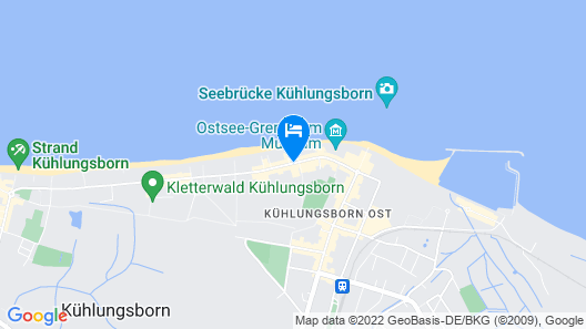Europa Hotel Kühlungsborn Map