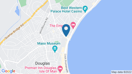 Mannin Hotel Map