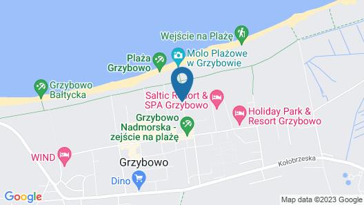 Sun & Snow Resort Kołobrzeg Map