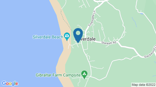 The Silverdale Hotel Map