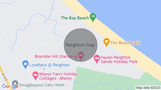 2 Bed Caravan, Reighton Sands, Filey Map