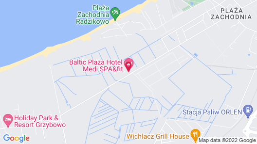 Hotel Baltic Plaza mediSPA & FIT Map