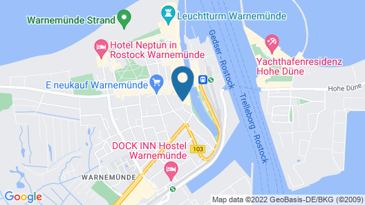 Vogel Hotel Appartements & Spa Map