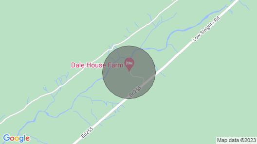 Dale House Farm Cottage Map