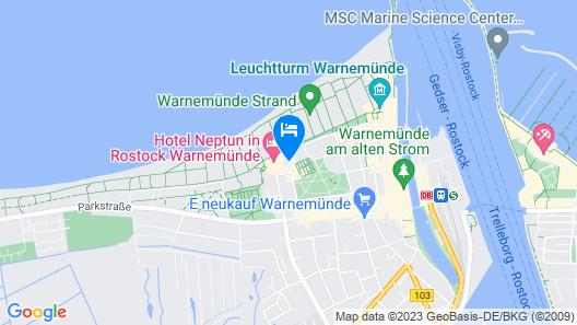 Hotel Neptun Map