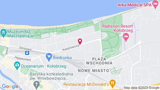 Hotel Aquarius Spa Map
