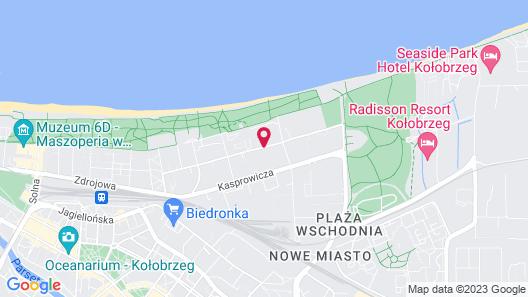 Hotel Diva SPA Map