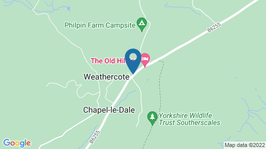 6-bed House in Yorkshire Dales National Park Map