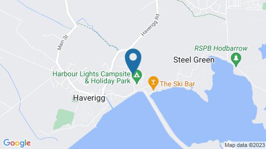 Sea View Cottage Lake District Coast Map