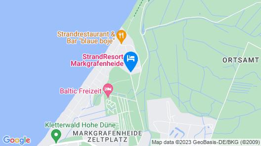 StrandResort Markgrafenheide Map