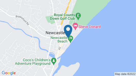 Slieve Donard Resort and Spa Map