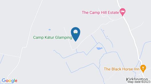 Camp Kátur Map