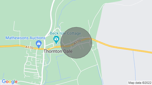Farndale Cottage, Thornton-le-dale Map