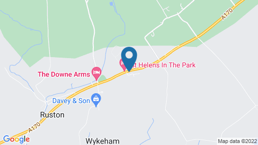 The Downe Arms Hotel Map