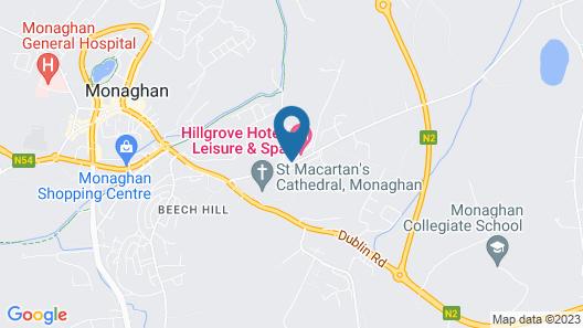 Hillgrove Hotel Map