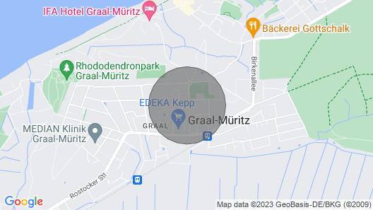 Holiday Flat, Graal-müritz Map