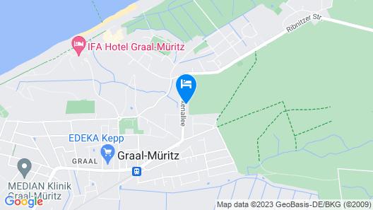 Dünenmeer Ferienhäuser Map