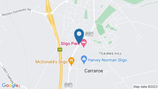 Sligo Park Hotel & Leisure Club Map