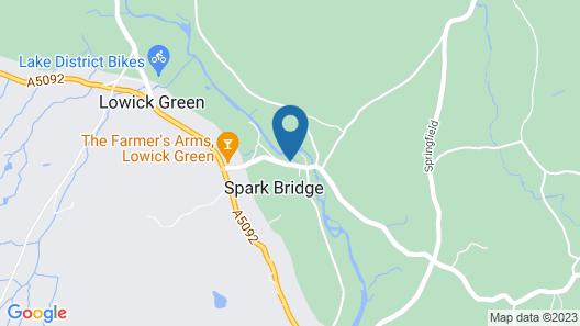 Royal Oak Spark Bridge Map