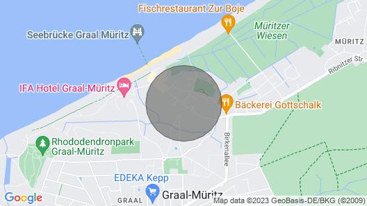 Apartamento Duplex de 109 m² em uma Localização Privilegiada em Strandpark, Fewo 2. 2., Wifi Grátis Map