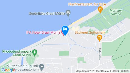 IFA Graal-Müritz Hotel, Spa & Tagungen Map