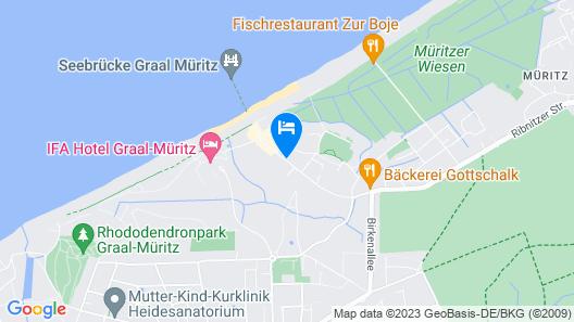 AKZENT Hotel Residenz Map
