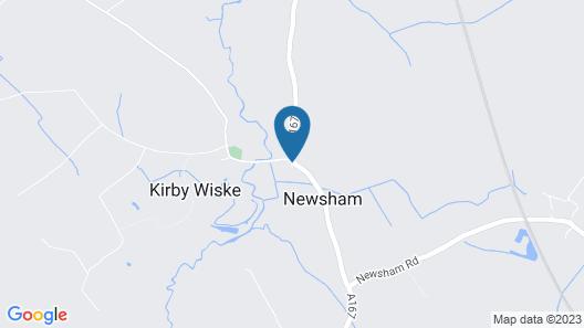 Newsham Grange Farm Bed and Breakfast Map