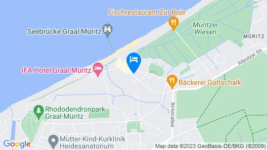 AKZENT Apartmenthotel Residenz Map