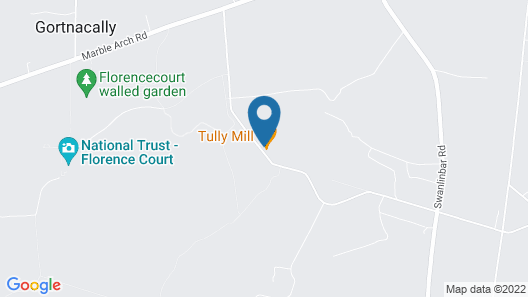 Tully Mill Cottages Map
