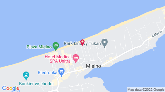Dune Resort Mielno - B Map