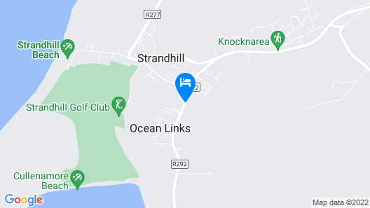 Strandhill Lodge and Suites Map
