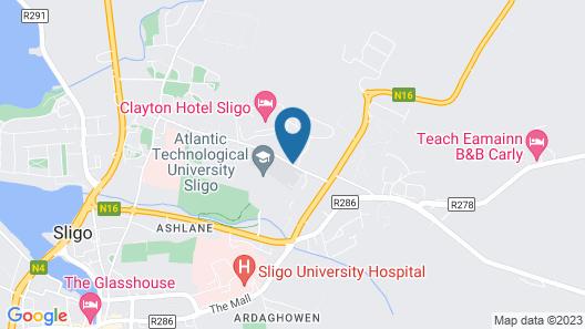 Clayton Hotel & Leisure Club Sligo Map