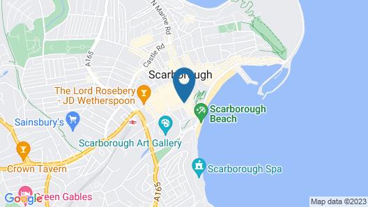 Harcourt Place Map