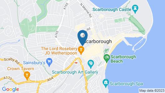 Albemarle Hotel Map