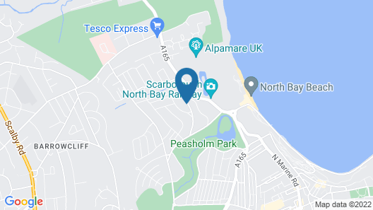 The Headlands Hotel Map