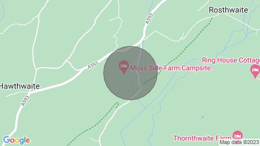 Moss Side Farm Cottage Map