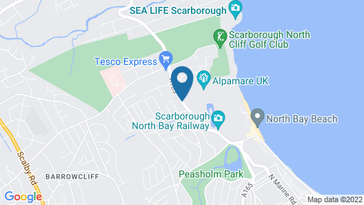 53 Burniston Road Map